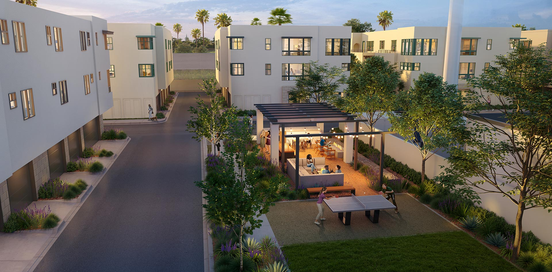 Expo Townhomes Recreation Area